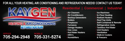 Kaygen Heating & Air Conditioning + Refrigeration