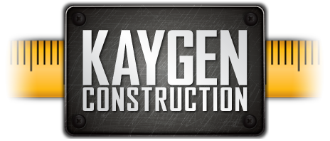 kaygen construction logomobile